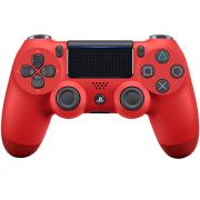 Геймпад DualShock 4 для PS4 беспроводной Magma Red (красный)...