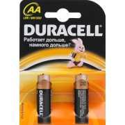 Элемент питания Duracell Basic LR6-2BL AA (2 шт.)...