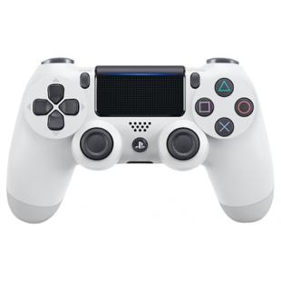 Геймпад DualShock 4 для PS4 беспроводной Glacier White (белый) (CUH-ZCT2E)