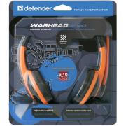 Гарнитура Defender Warhead G-120 игровая проводная для PC (ч...