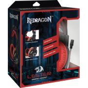 Гарнитура Redragon Lester проводная игровая с подсветкой для...