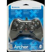 Геймпад Defender Archer проводной для PC