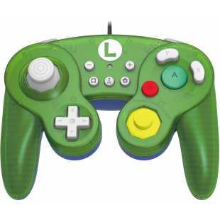 Геймпад Hori Battle Pad: Luigi для Nintendo Switch (NSW-136U)