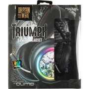 Гарнитура Qumo Dragon War Triumph GHS 0014 проводная игровая...