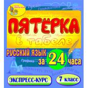 Пятёрка в табеле. Русский язык за 24 часа. 7 класс 2.1...
