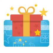 Электронный подарочный сертификат на покупку программного об...