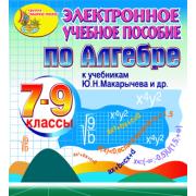 Электронное пособие по алгебре для 7-9 классов к учебнику Ю....