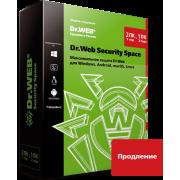 Dr.Web Security Space. Продление лицензии Комплексная защита...