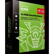 Dr.Web Security Space. Поставка в коробке