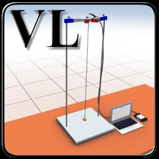 Виртуальная лабораторная работа  Эллиптическое колебание подвесного маятника 1.0