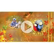 Шаблоны для слайд-шоу Золотая осень...