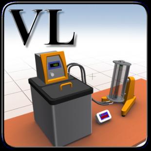 Виртуальная лабораторная работа  Вискозиметр с падающим шариком 1.0