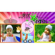 Шаблоны слайд-шоу С Днем рождения (для детей)...
