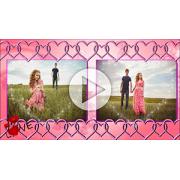 Шаблоны слайд-шоу История любви