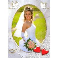 Свадебные открытки и рамки