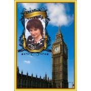 Шаблоны открыток Города мира