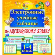 Электронные учебные таблицы по английскому языку. 1-4 классы...