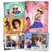 Рамки для фотографий в стиле пин-ап 100 рамок для фотографий...