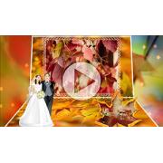 Шаблоны для слайд-шоу Осенний свадебный вальс...