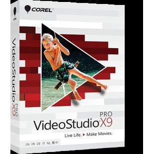Corel VideoStudio X9 Ultimate English (коробочная версия)