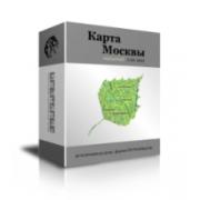 Набор данных (карта) на территорию г. Москвы и Московской об...