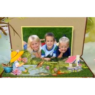 Шаблоны слайд-шоу Детский альбом