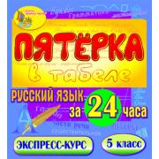 Пятёрка в табеле. Русский язык за 24 часа. 5 класс 2.1...