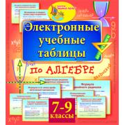 Электронные учебные таблицы по алгебре. 7-9 классы 2.0...