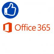 Microsoft Office 365 для Бизнеса по подписке Базовый на 1 го...