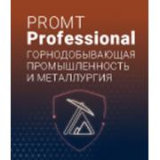 PROMT Professional Горнодобывающая промышленность и металлур...