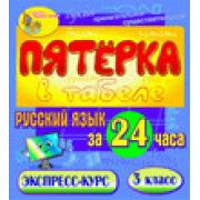Пятёрка в табеле. Русский язык за 24 часа 3 класс 2.1...