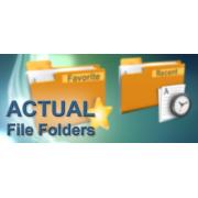 Actual File Folders 1.13.3