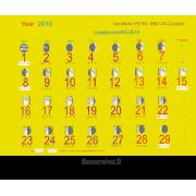 Конвертер дат для для солнечного и лунного календарей (от -4...