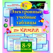 Электронные учебные таблицы по химии. 8-9 классы 2.0...