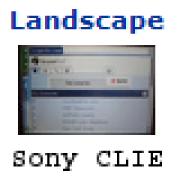 Поворот экрана (Palm) Landscape 1.2.3