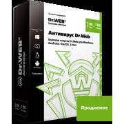 Антивирус Dr.Web. Продление лицензии для Windows...