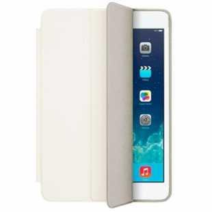 Чехол-книжка Smart Case для Apple iPad mini 4 (искусственная кожа с подставкой) белый