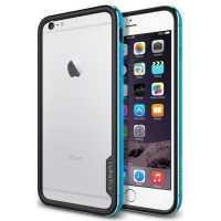 Чехол-бампер Spigen Neo Hybrid EX Metal для Apple iPhone 6 P...
