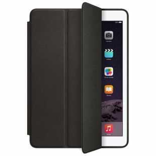 Чехол-книжка Smart Case для Apple iPad (2017/2018) (искусственная кожа с подставкой) черный