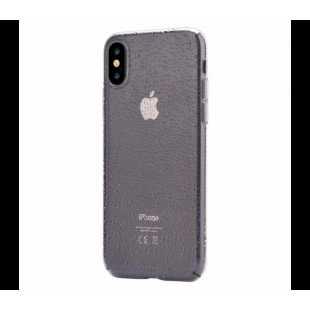 Чехол-накладка Devia Anti-shock soft case для Apple iPhone X (10) силиконовый Crystal tea (300806)