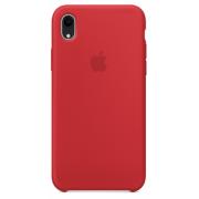 Чехол-накладка Silicone Case для iPhone Xr силиконовый красн...