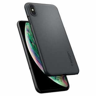 Чехол-накладка Spigen Thin Fit для Apple iPhone Xs Max (Графитовый серый) SGP 065CS24825