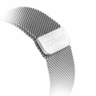 Ремешок нержавеющая сталь со стразами COTEetCI W18 Magnificent Band WH5227-TS для Apple Watch Series 1/2/3 38mm серебристый