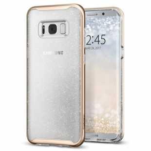 Чехол-накладка Spigen Neo Hybrid Crystal Glitter для Samsung Galaxy S8+ SGP 571CS21658 Золотой