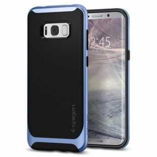 Чехол-накладка Spigen Neo Hybrid для Samsung Galaxy S8+ голубой (SGP 571CS21650)