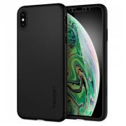 Чехол-накладка Spigen Thin Fit 360 для Apple iPhone Xs Max Ч...