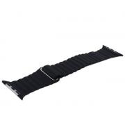 Ремешок кожаный COTEetCI W7 Leather Magnet Band WH5205-BK дл...