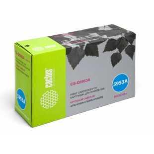 Лазерный картридж Cactus CS-Q5953AR (HP 643A) пурпурный для HP Color LaserJet 4700, 4700DN, 4700DTN, 4700HDN, 4700N, 4700PH Plus (10'000 стр.)