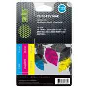 Заправочный набор Cactus CS-RK-F6V16AE (HP 123) многоцветный...