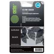 Заправочный набор Cactus CS-RK-CB335 черный (2x30мл) HP Desk...